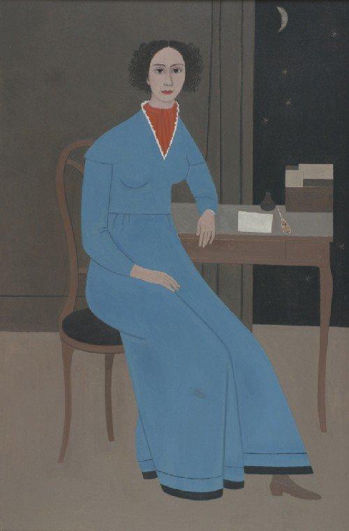 3: Doris Emrick Lee, (American, 1905-1983), Portrait of