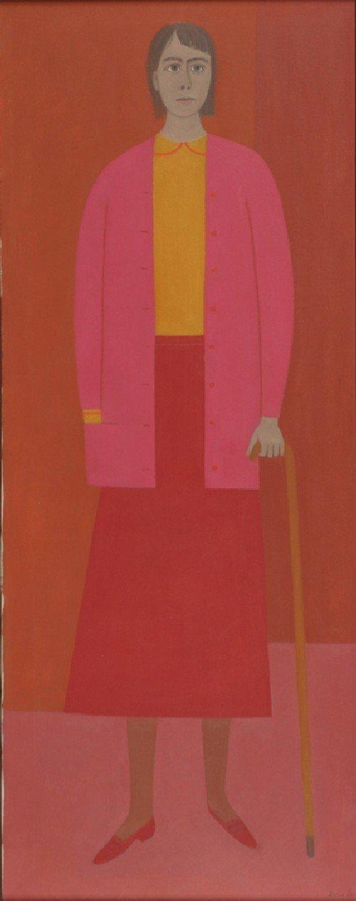 6: Doris Emrick Lee, (American, 1905-1983), Portrait of