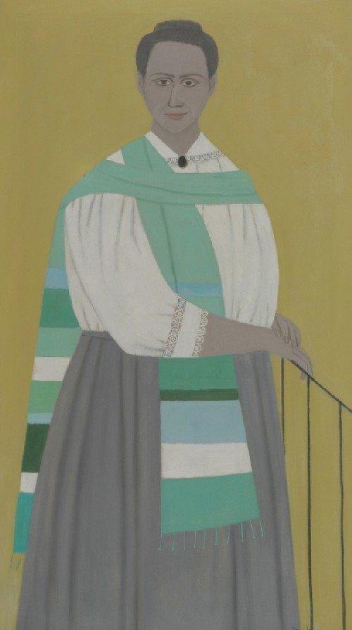 7: Doris Emrick Lee, (American, 1905-1983), Portrait of