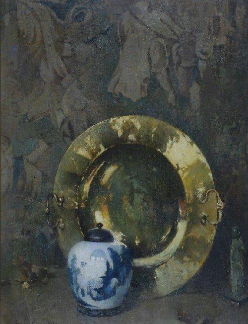11: Emil Carlsen, (American, 1853-1932), Spanish Braser