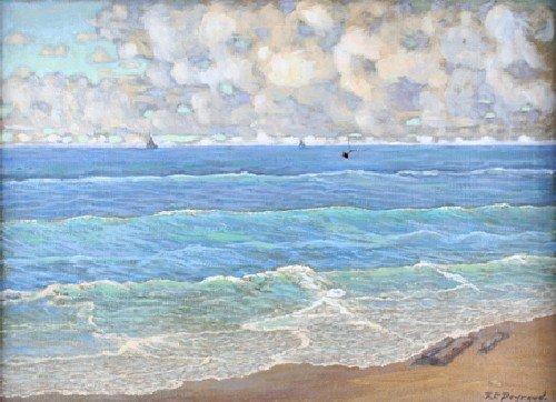 14: Frank Charles Peyraud, (American, 1858-1948), Seasc