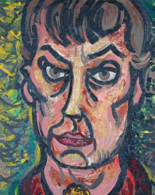 23: Andrene Kauffman, (American, 1905-1993), Mirror, Mi