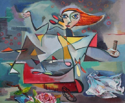 24: Andrene Kauffman, (American, 1905-1993), Exutement