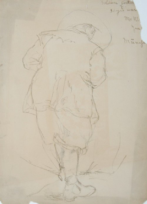 483: , , A Group of five drawings possibly by Carl von