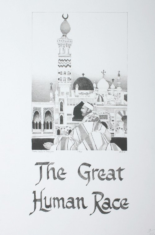 528: John Doyle, (American, 20th Century), The Great Hu