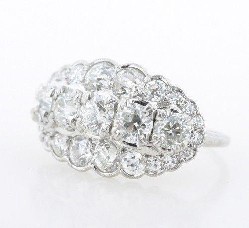 21: A Platinum and Diamond Ring,