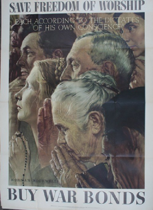 5: Norman Rockwell, (American, 1894-1978), The Four Fre