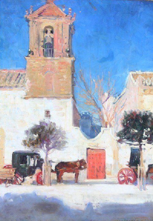 75: Jane Peterson, (American, 1876-1965), Old Spanish C