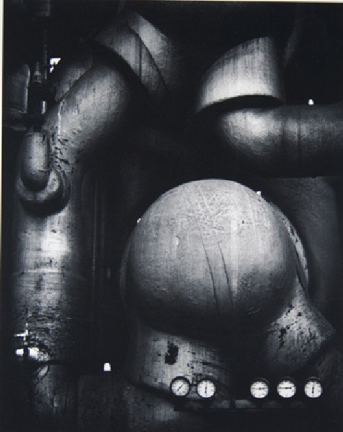 110: Ansel Adams, (American, 1902-1984), Pipes and Gaug
