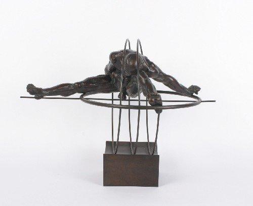 138: Louis Lutz, (French, b. 1940), L'Homme dans les Tr