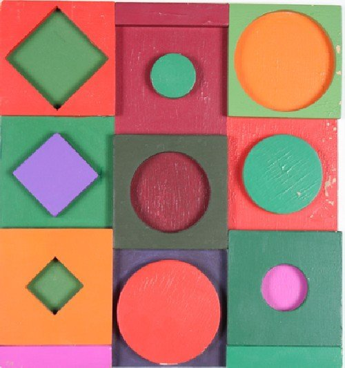 222: Victor Vasarely, (French/Hungarian, 1908-1997), A