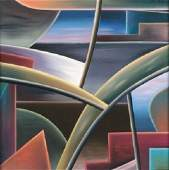 355: William Conger, (American, b. 1937), Sin Era 1