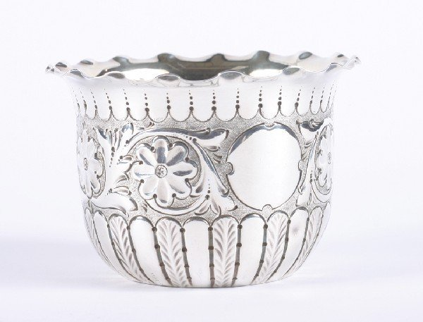644: A Victorian Silver Bowl, Sheffield, Diameter 3 1/2