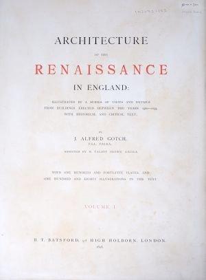 12: (ARCHITECTURE) GOTCH, J. ALFRED