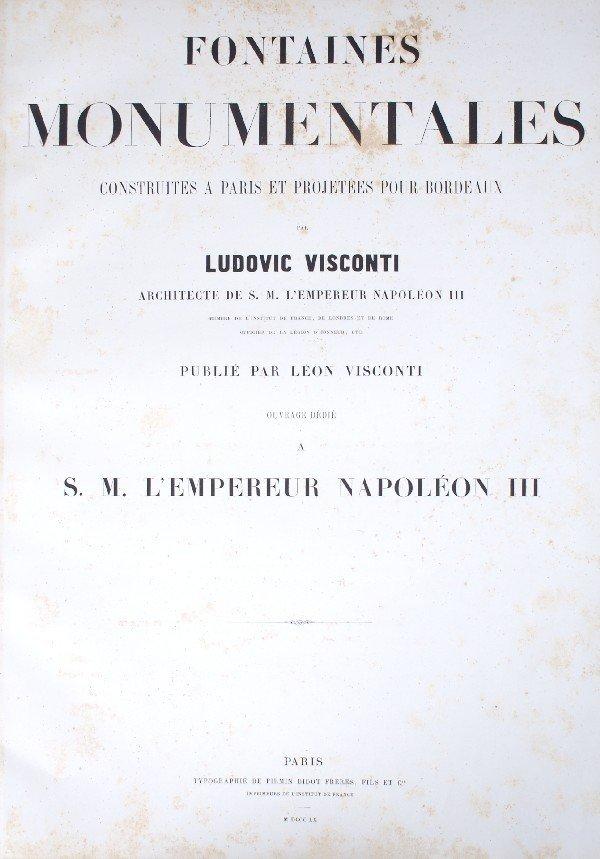 19: (ARCHITECTURE) VISCONTI, LUDOVIC