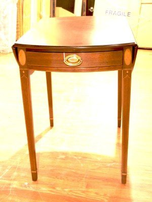 3: A George III Style Pembroke Table, Kittinger Old Dom