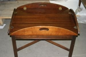 19: Two Georgian Style Occasional Tables, Height 28 1/2