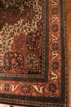 605: A Ferreghan Sarouk Carpet, 10 feet 3 inches x 6 fe