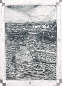 William Wiley, (American, b. 1937), Untitled