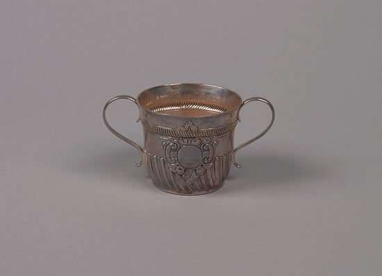 614: A George I Style Silver Two Handled Cup, London,
