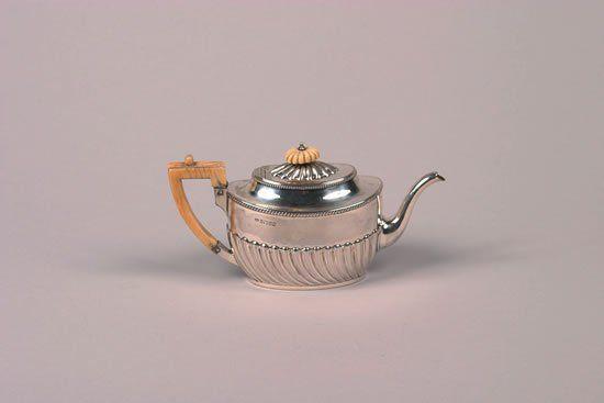 A Victorian Silver Three Piece Tea Service, Maker'
