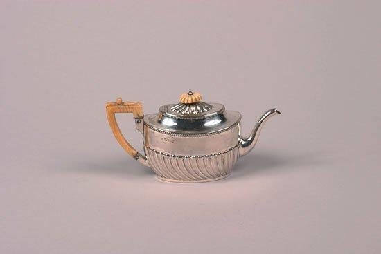 619: A Victorian Silver Three Piece Tea Service, Maker'