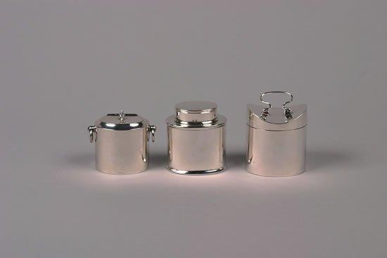 627: An Edward VII Silver Tea Caddy, London,