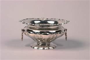 An Edward VII Silver Center Bowl, Silversmiths & G