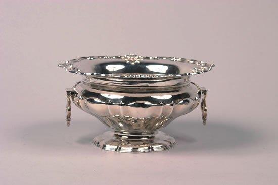 628: An Edward VII Silver Center Bowl, Silversmiths & G