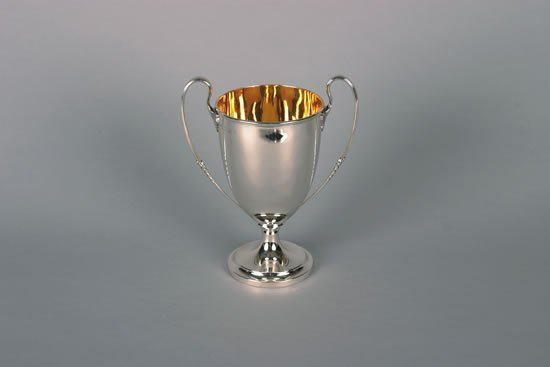 630: An Edward VII Silver Two Handled Cup, Elkington &