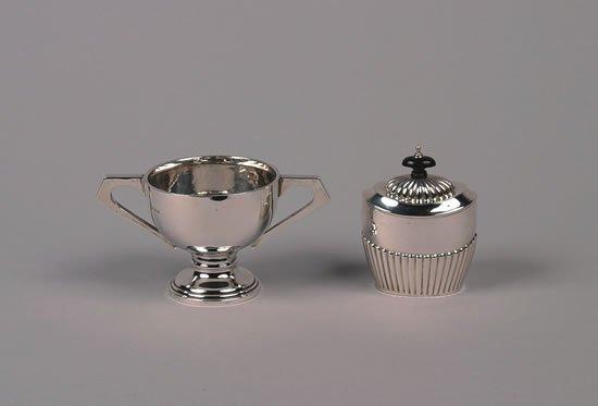 631: An Edward VII Silver Tea Caddy, Birmingham,