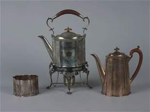 A George V Silver Part Coffee Service, Maker's Ma