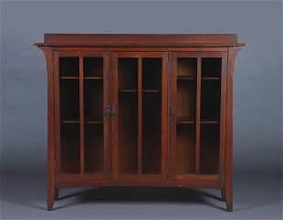 A Limbert Oak Bookcase,