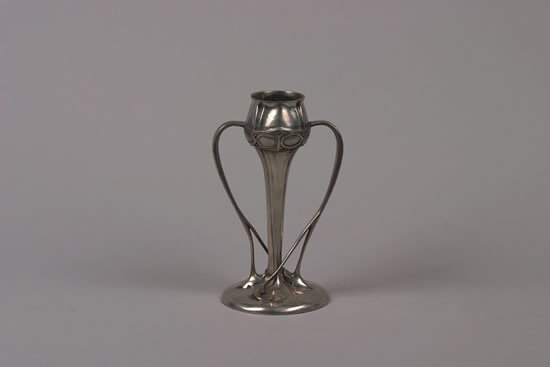 1246: A Liberty & Co. Pewter Vase,