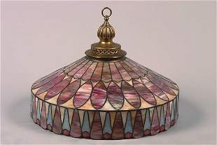 A R. Williamson & Co. Varialux Leaded Glass Shade