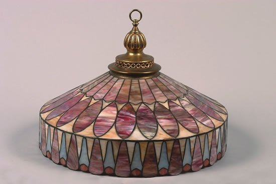 1256: A R. Williamson & Co. Varialux Leaded Glass Shade