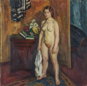 4: Louis Ritman, (American, 1889-1963), The Model