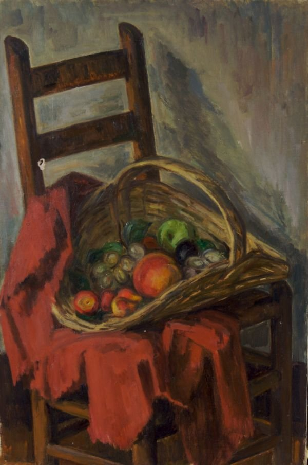 5: Louis Ritman, (American, 1889-1963), Basket of Fruit