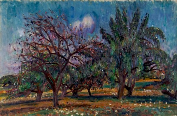 7: Louis Ritman, (American, 1889-1963), The Orchard