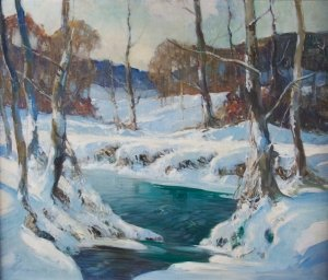 14: George Ames Aldrich, (American, 1872-1941), Winter