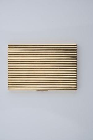 22: An 18 Karat Yellow Gold, Cigarette Case, Cartier, L