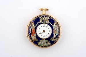 23: A Gold Pocketwatch with Automatan Repeater,