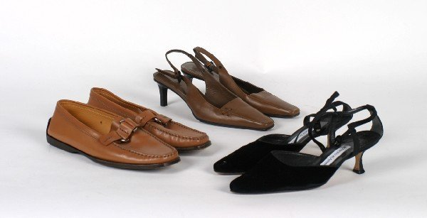659: A Group of Designer Shoes, J.P. Tod's, Manolo Blah