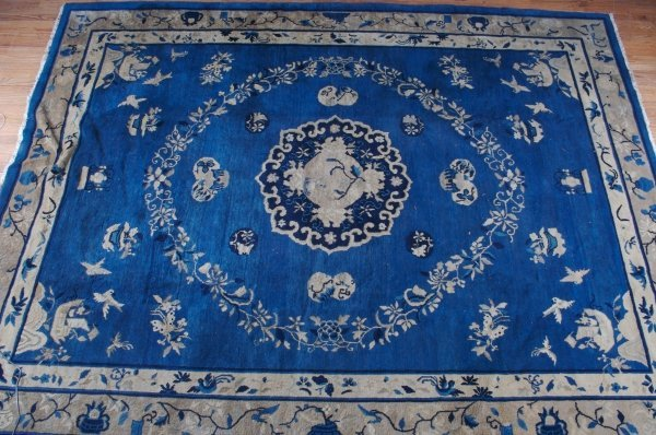 477: A Chinese Carpet, 10 feet 7 inches x 8 feet 1 inch