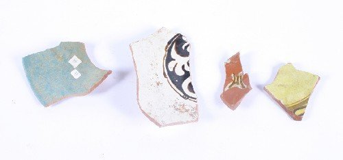 492: A Collection of Pottery Fragments,