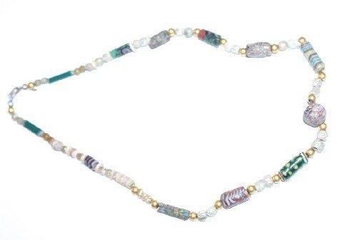 493: A Greco-Roman Mosaic Necklace,