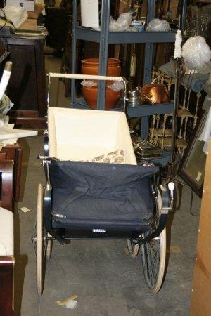 504: An English Baby Stroller.