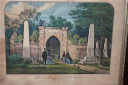 946: , , Currier and Ives, The Tomb of Washington