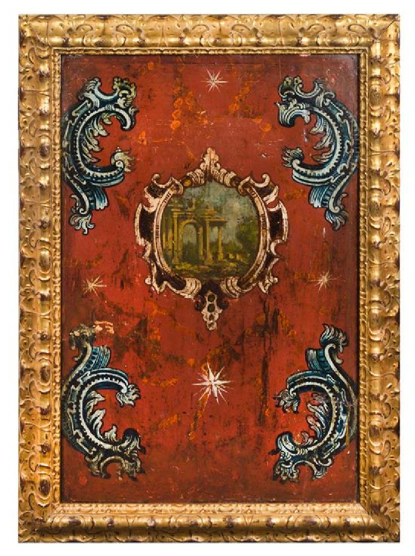 A Set of Four Italian Painted Panels - 2