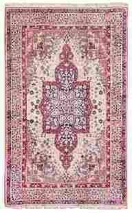 An Oushak Wool Rug 9 feet 4 inches x 13 feet 8 inches